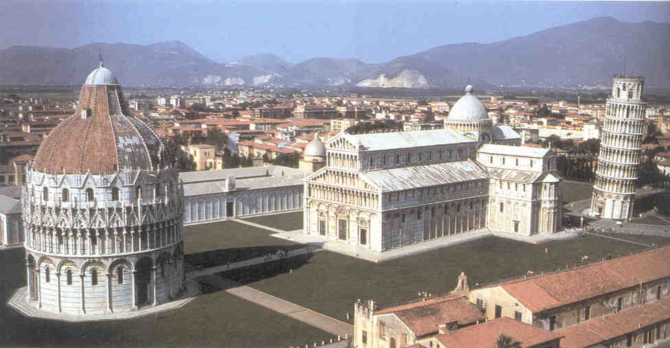 Cathedral Complex, Pisa - Art History Timeline